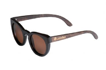 Gafas de sol de madera painted bamboo & Brown lenses